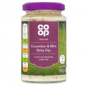 Co Op Cucumber and Mint Raita Dip